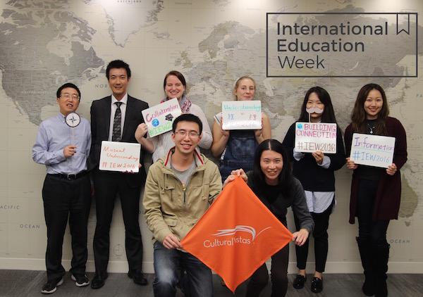 International Education Week Group Photo Cultural Vistas